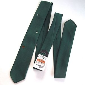 MidCentury Modern Retro Skinny Tie Green old NWT